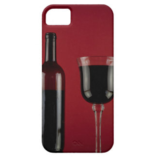 Wine red glass bottle iPhone 5 cases