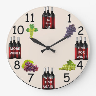 Wine Reminder Clock