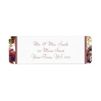 Wine Rose Return Address