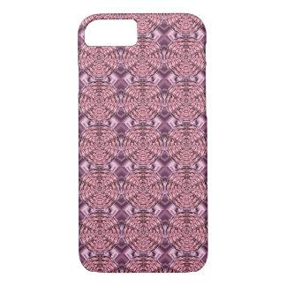 Wine Satin Mandala iPhone 7 Case