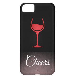 Wine / Slate Grunge iPhone 5C Cases