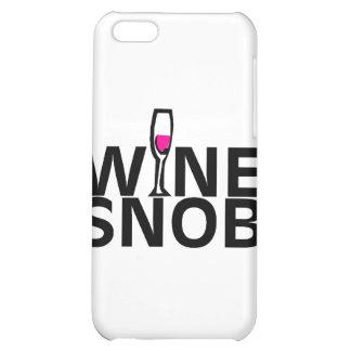 Wine Snob iPhone 5C Covers