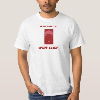 Wine T-Shirt - Welcome to Wine Club