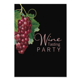 Wine Tasting Party Custom Invitation