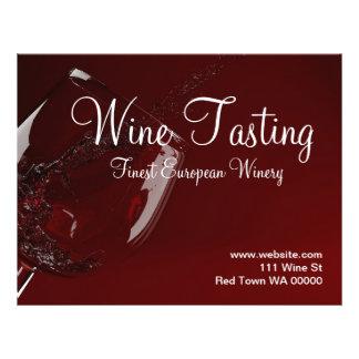 Wine Tasting Winery Flyer Invitation