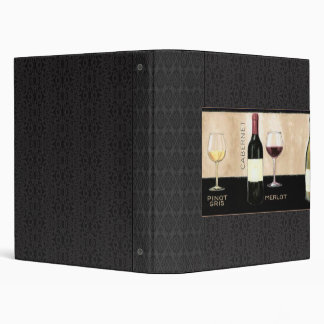Wine Theme Binder/Album Binder