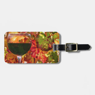 Wine Theme Gifts Luggage Tag