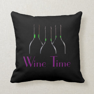 'Wine Time' Cushion