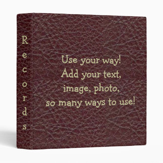 Wine Tool Leather Print Notebook Avery Binder