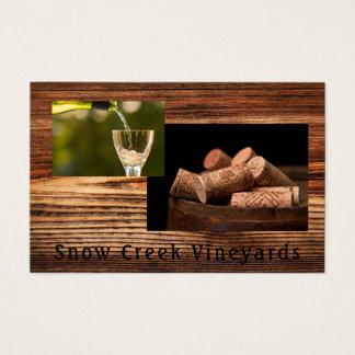 Wine Vineyard Business Card