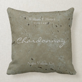 Wine Vineyard Winery Throw Pillow