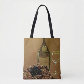 Wine Vino Tote Bag