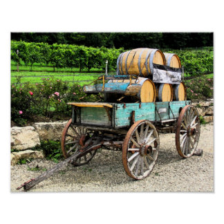 Wine Wagon Poster