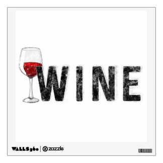 Wine - wall decal