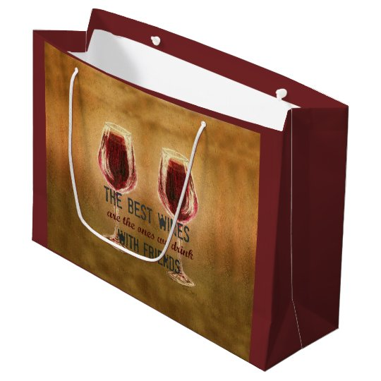 Wine with Friends Gift Bag