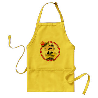 Wine Women Song 65th Birthday Gifts Standard Apron