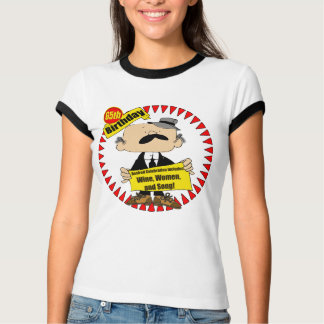 Wine Women Song 65th Birthday Gifts Tees