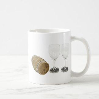 WineBarrelGlasses110709 copy Coffee Mug