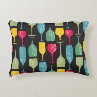 Wineglass Decorative Pillow
