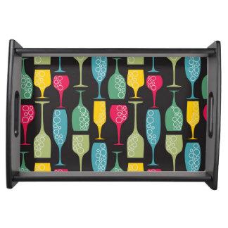 Wineglass Service Trays