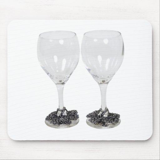 WineGlassesGrapes110709 copy Mouse Pads