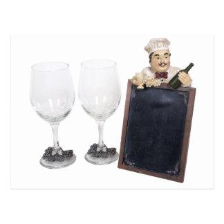 WineGlassesMenuSign053110 Cartes Postales