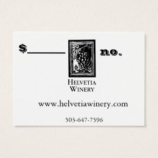 Winery Gift Card take 2