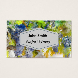 Winery or Sommelier Business Card