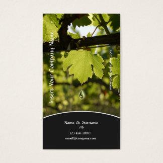 Winery Vineyard Grape Business Profile Card