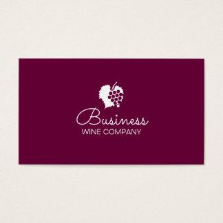 Winery Wine Company Plain Business Card