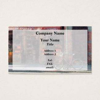 Wines and Spirits Greenwich Village Business Card