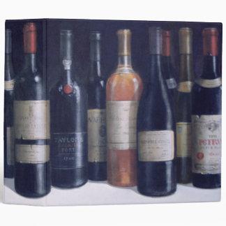 Winescape 1998 vinyl binder