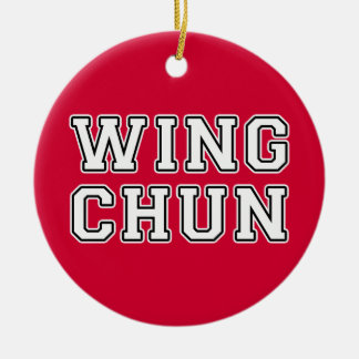 Wing Chun Ceramic Ornament