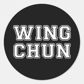 Wing Chun Classic Round Sticker