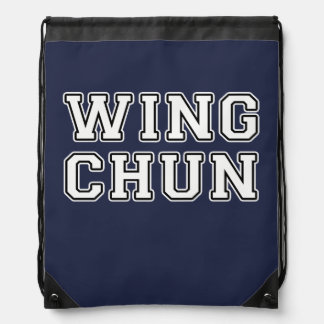 Wing Chun Drawstring Bag