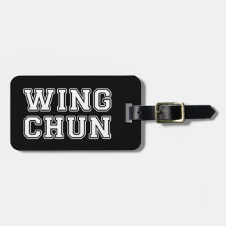 Wing Chun Luggage Tag