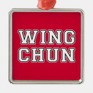 Wing Chun Metal Ornament