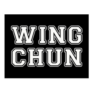 Wing Chun Postcard