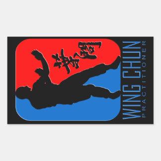 "Wing Chun ""Practitioner"" Emblem Sticker"