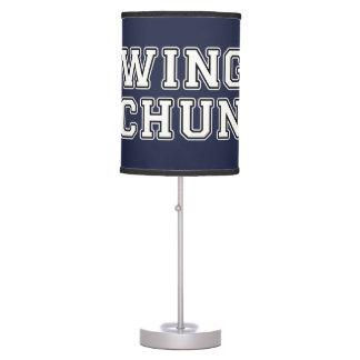 Wing Chun Table Lamp