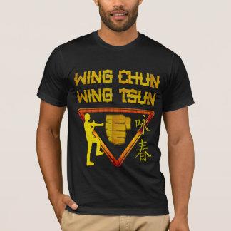 Wing Chun Wing Tsun Triangle Logo T-Shirt
