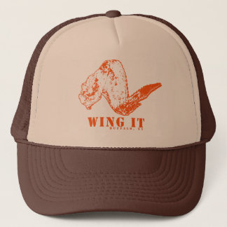Wing It Trucker Hat