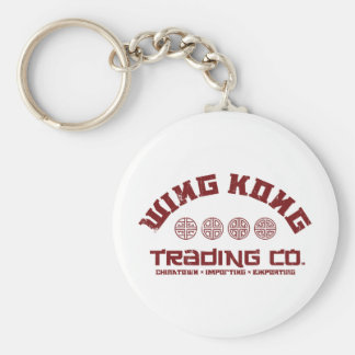 wing kong trading co. big trouble in little china keychain