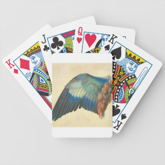 Wing of a Blue Roller by Albrecht Durer Bicycle Playing Cards