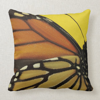 Wing of a butterfly throw pillow