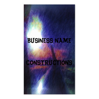 Wing of a plane Double-Sided standard business cards (Pack of 100)