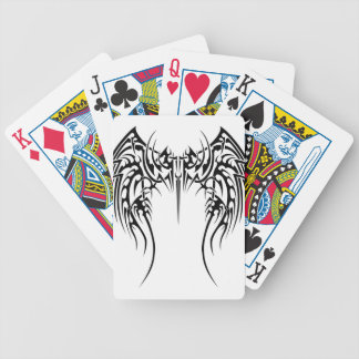 Wing wind bicycle playing cards