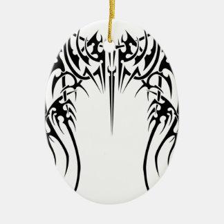 Wing wind ceramic ornament