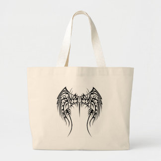Wing wind large tote bag