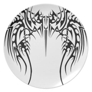 Wing wind party plate